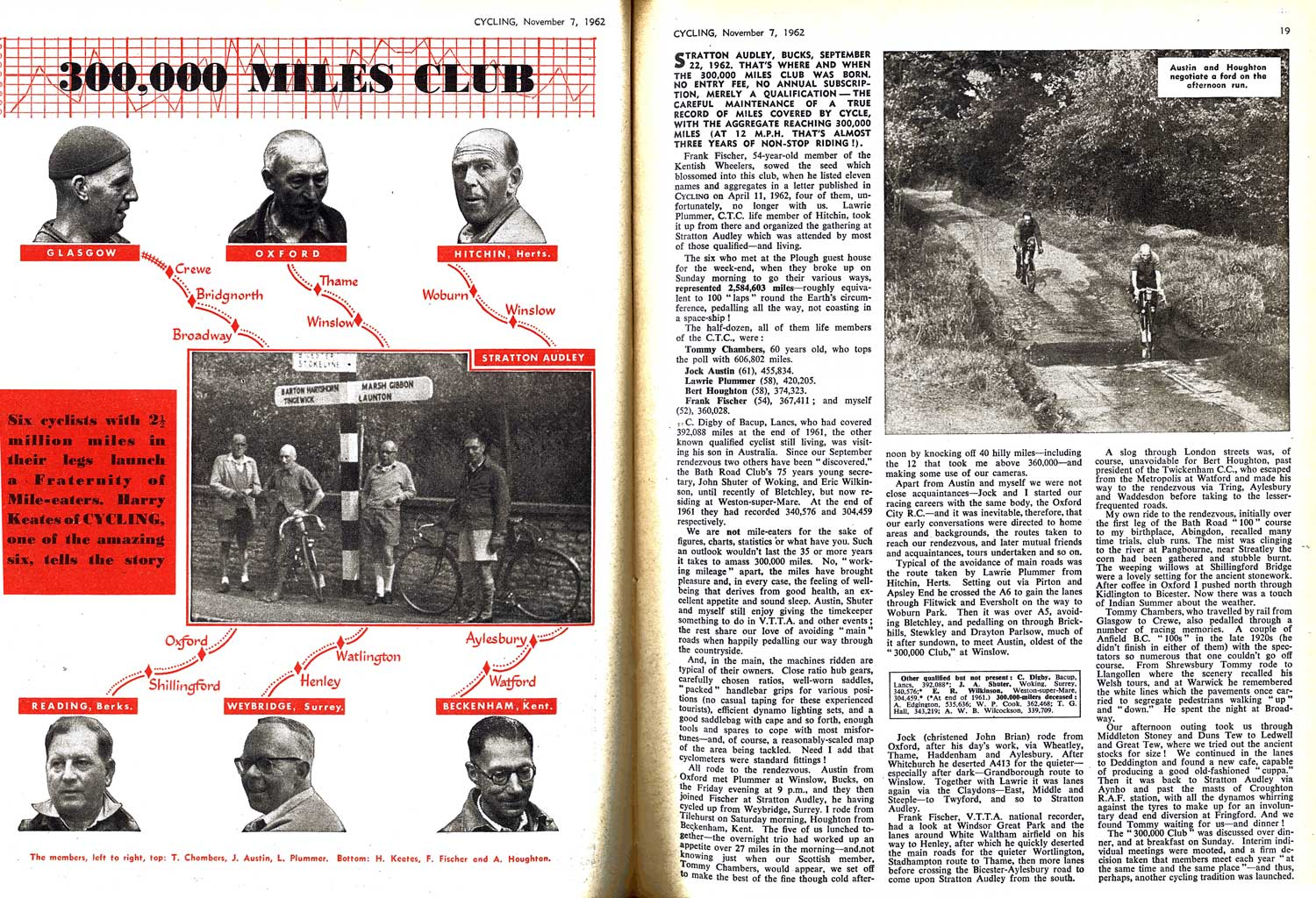 Cycling magazine article, 1962 © Copyright Time Inc. (UK) Ltd.